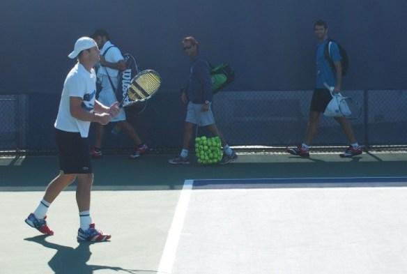 Andy Roddick practice Cincinnati Open 2012 retirement photos images pictures