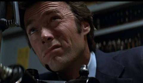 Squinting Clint Eastwood Magnum Force images screencaps