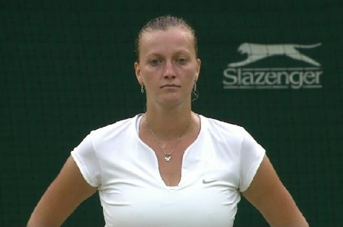Petra Kvitova loss Wimbledon sad dejected face tears pictures screencaps