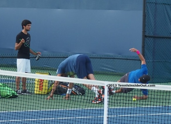 Cincy Tommy Haas Christian Groh cute hot tight ass bum arse butt shorts stretching