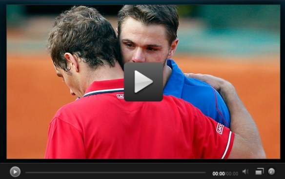 Gasquet Wawrinka RG highlights video preview pic