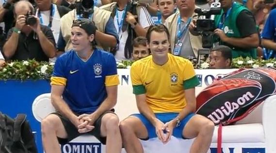 Tommy Haas Roger Federer Fedaas cuteness bromance