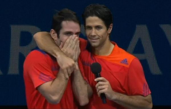 David Marrero Fernando Verdasco World Tour Finals doubles victory 2013