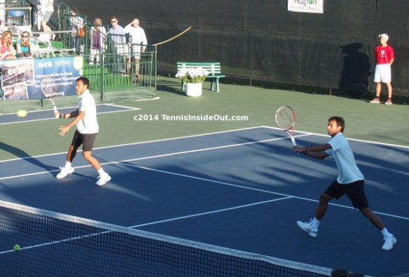Sanchai Sonchat Ratiwatana Nielsen pro tennis doubles Winnetka photos pics images