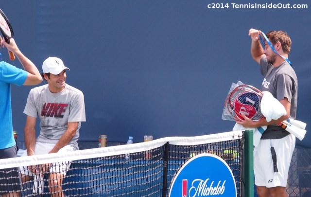 Fedrinka Federer Wawrinka