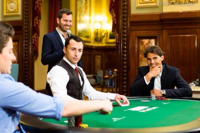 Rafa Nadal tweets poker game photo