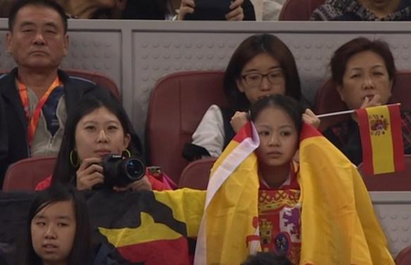 Rafael Nadal Klizan match Beijing fans