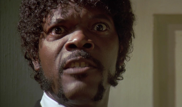 Samuel L. Jackson Pulp Fiction screencap