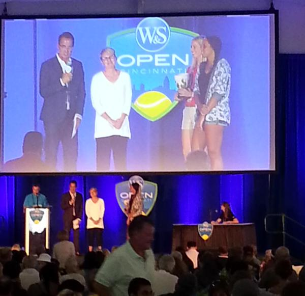 Madison Keys 2015 draw party Cincy countdown