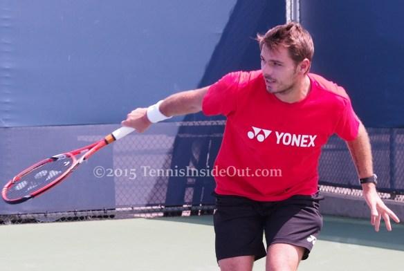 Stan the Man beautiful backhand tennis