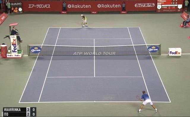 Stan Wawrinka Tatsumo Ito second round Rakuten Japan Open ready to play