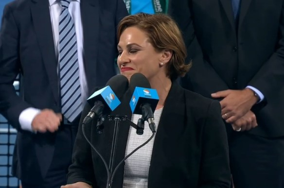 Premier Jackie Trad speech Brisbane final