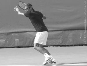 Forehand preparation nice ass Rog tennis Federer