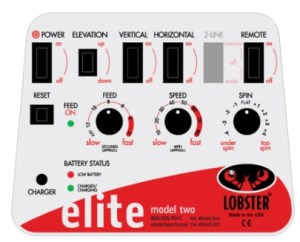 Lobster Elite Two Control Panel
