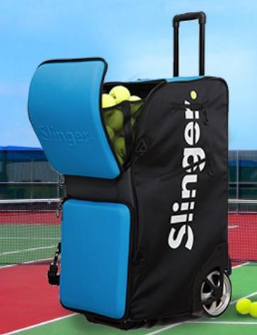 Slinger Bag Tennis Ball Machine Review Tennis Pro Guru