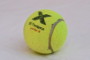 Tretorn X Pressureless Tennis Ball