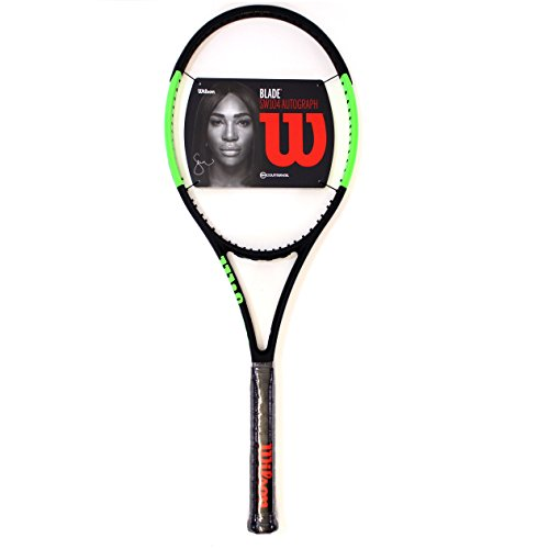 The 11.4 oz static weight racquet is definitely not a light weight and is  considered one of the most lethal of racquets when at the mercy of someone  who has ... 1c04916312548