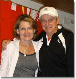 Roy Emerson and Lesley Silvester