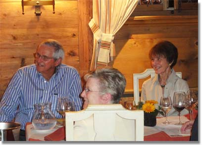 Roy and Joy Emerson, Palace Gstaad, Switzerland
