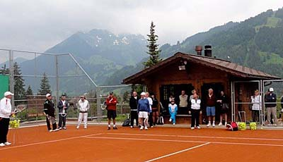 Roy Emerson Tennis Week in Gstaad, Switzerland