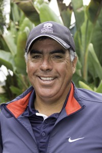 Eduardo Sanchez, head tennis professional at Rancho Valencia Resort