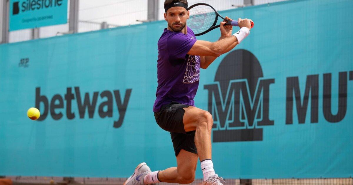 Madrid Masters 2021: Grigor Dimitrov vs. Lloyd Harris Tennis Pick and Prediction
