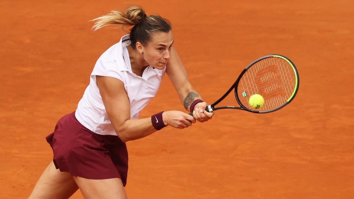 Roland Garros 2021: Aryna Sabalenka vs. Aliaksandra Sasnovich Tennis Pick and Prediction