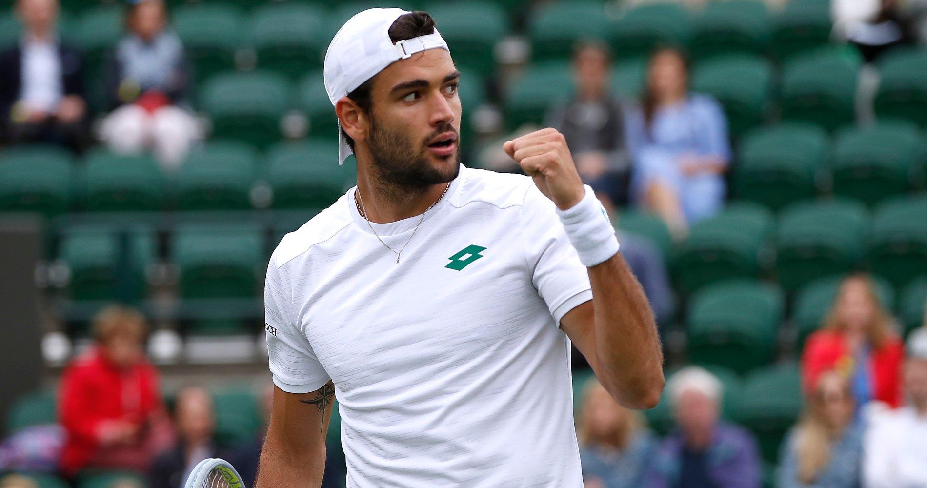 Wimbledon Championships 2021: Matteo Berrettini vs. Ilya Ivashka Tennis Pick and Prediction
