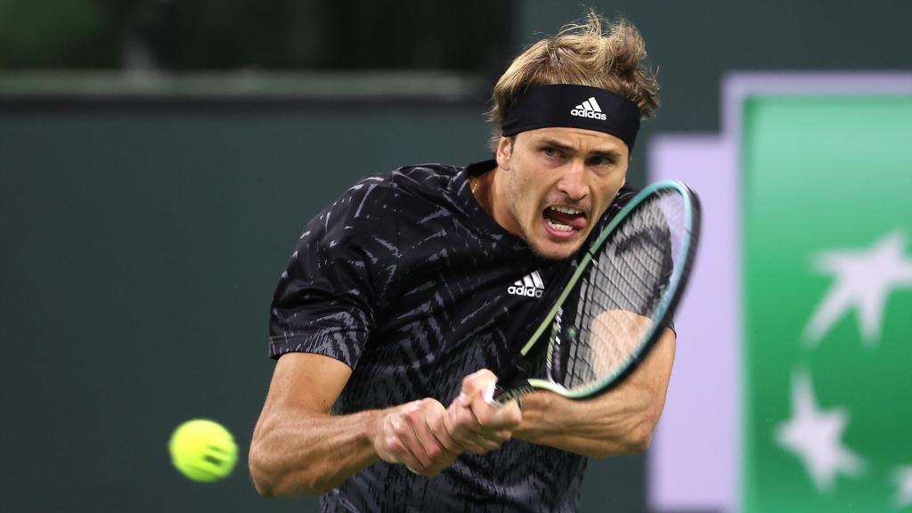 Alexander Zvere Taylor Fritz 2021 Indian Wells Open