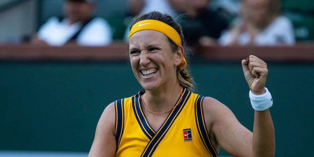 Victoria Azarenka Paula Badosa 2021 Indian Wells Open