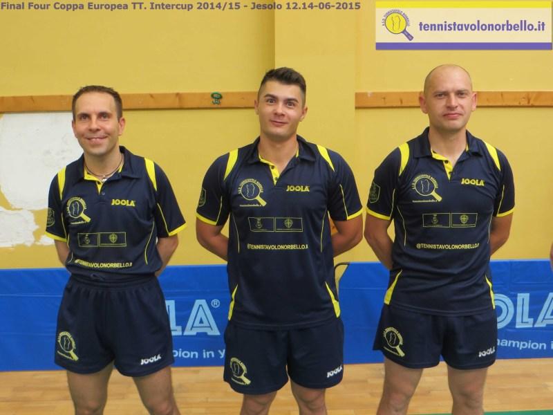 Il trio gialloblu pronto per la sfida