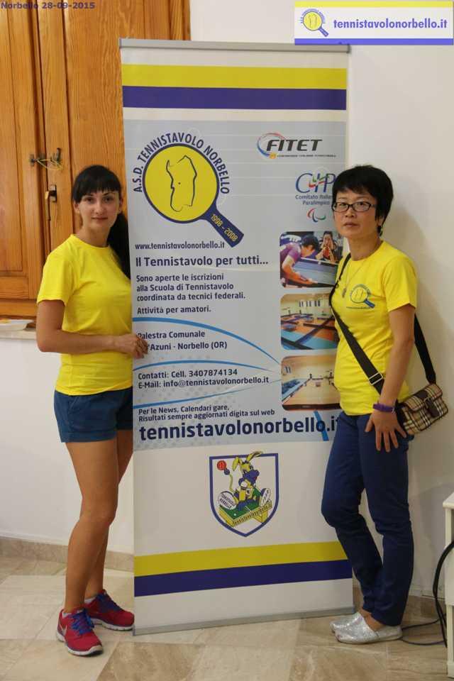 Ganna Farladanska con Wei Jian (Foto Gianluca Piu)