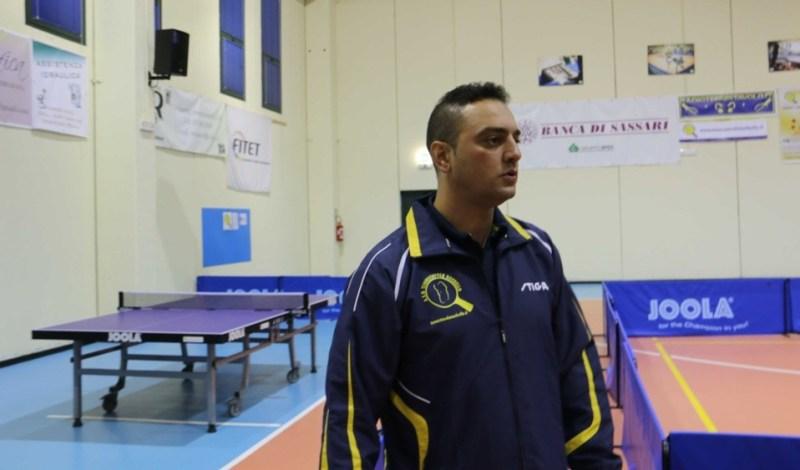 Max Mondello del Tennistavolo Norbello