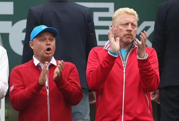 Djokovic and Becker part company