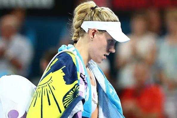 World No1 Kerber crashes out of Sydney