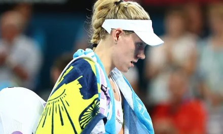 World No1 Kerber crashes out of Sydney