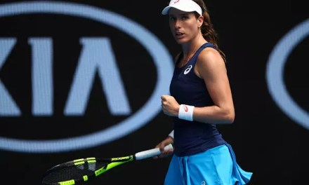 Konta makes last eight