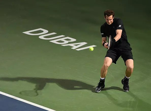 Murray gets back on track