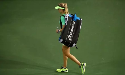 Another early loss for Bouchard