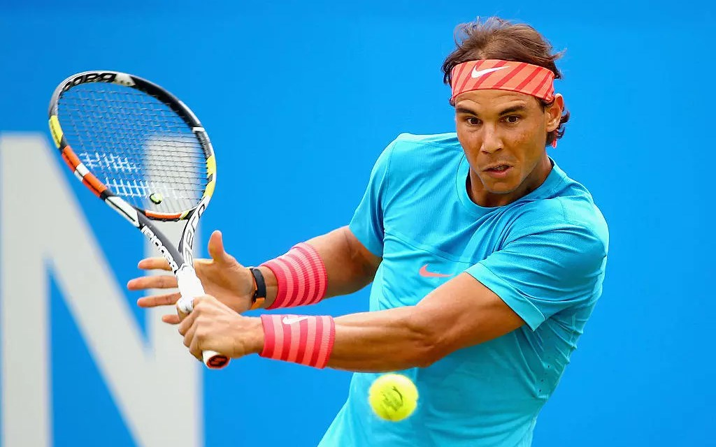 Š—…HappyŠ— Nadal at QueenŠ—'s