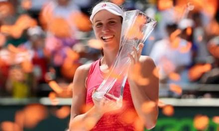 Johanna Konta beats Caroline Wozniacki to claim Miami Open title