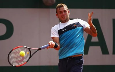 French Open   Evans is caught out