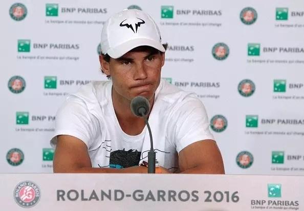 Nadal follows doctor's advice