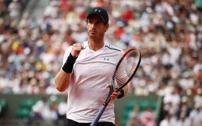 French Open   Murray survives Slovak onslaught