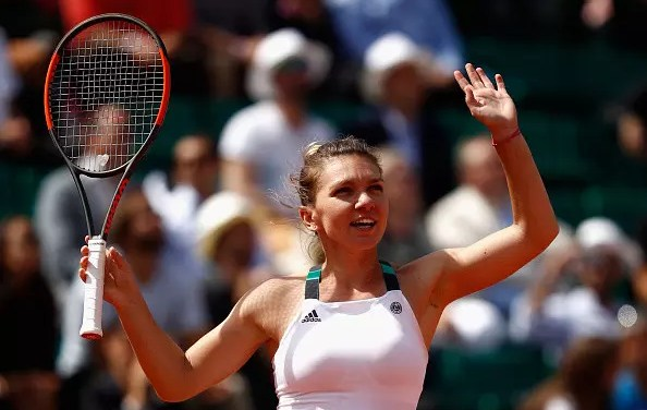 French Open   Luck favours the brave as Halep comes back