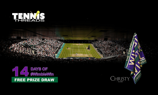 Win with #WimbleWin Day 3 | Christy Mens Championship Towel