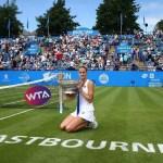 Eastbourne | Pliskova underlines her Wimbledon potential