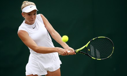 Wimbledon Day 8   Katie Swan eases into round three