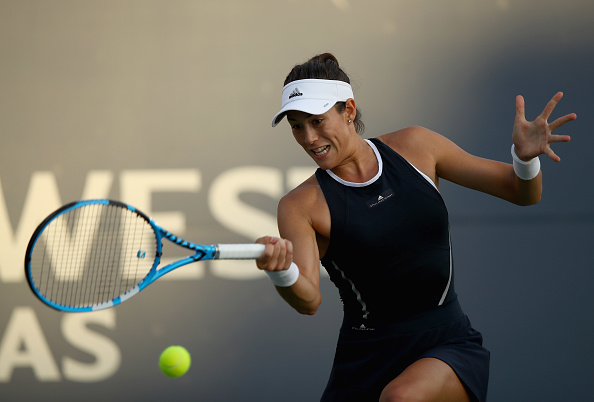Stanford | Muguruza cruises, Sharapova withdraws