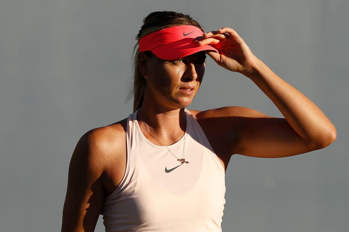 New York   Sharapova gets her wish